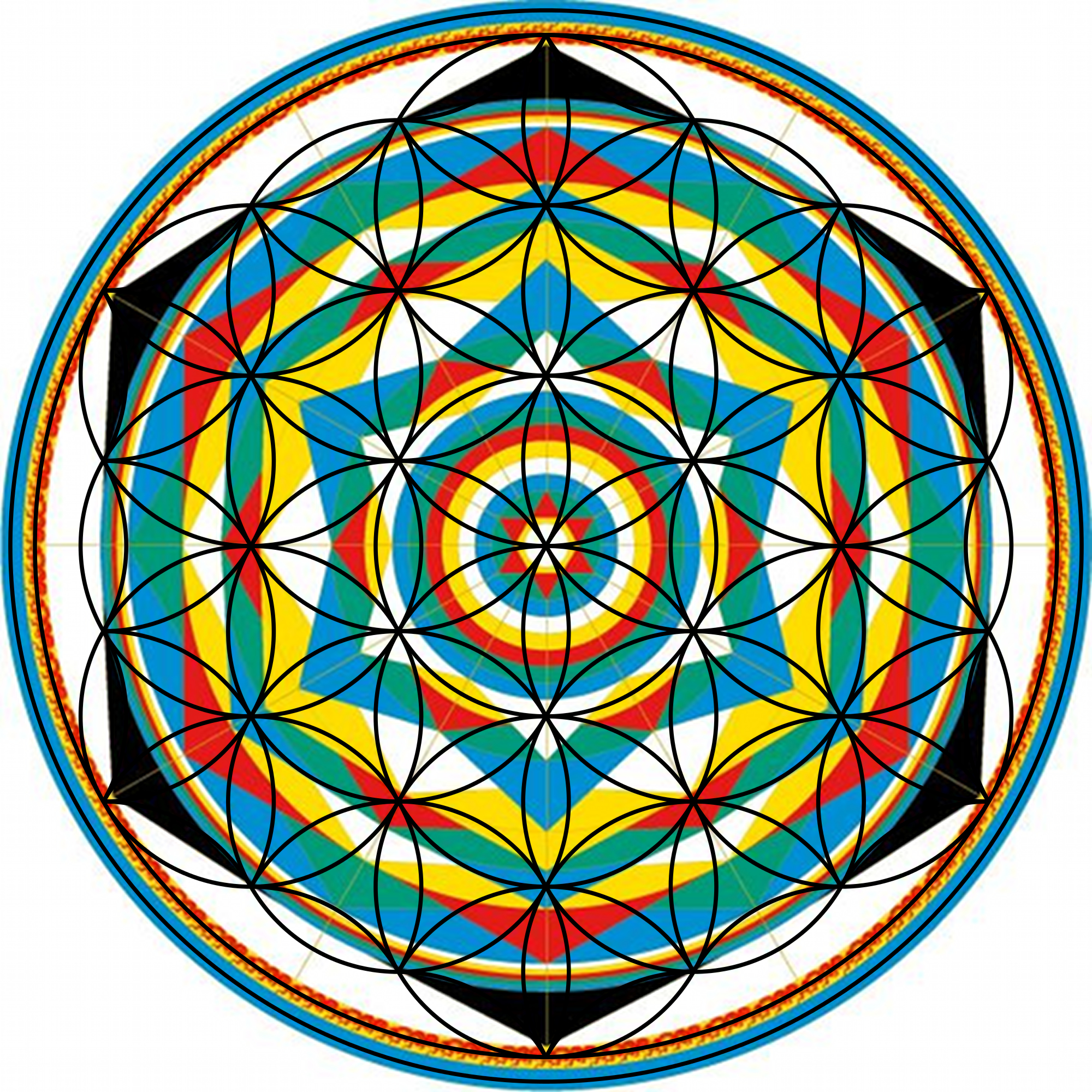 Bloem van Leven Universele Mandala Plukrijp